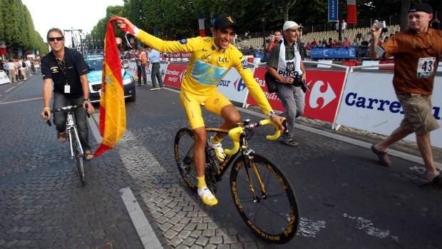 Альберто Контадор, Trek-Segafredo, велошоссе, Тур де Франс
