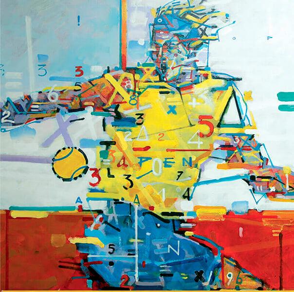 Теннисный турнир вместо кубков дарит картины