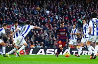Барселона, Реал Мадрид, Валенсия, Севилья, Атлетико, Атлетик, Реал Сосьедад, Лионель Месси, примера Испания, Нуну Эшпириту Санту