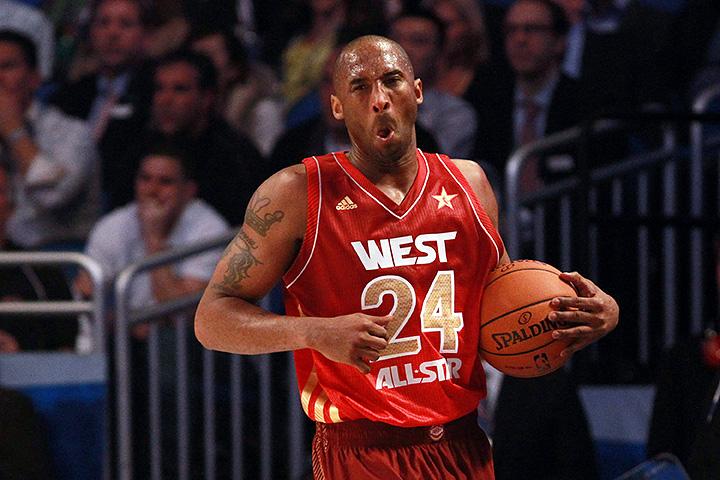 Кобе Брайант, Лейкерс, Матч всех звезд НБА, НБА