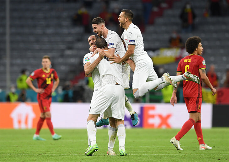 Италия и Испания в 1/2 финала! Это классика Евро: встречаются каждый турнир с 2008-го