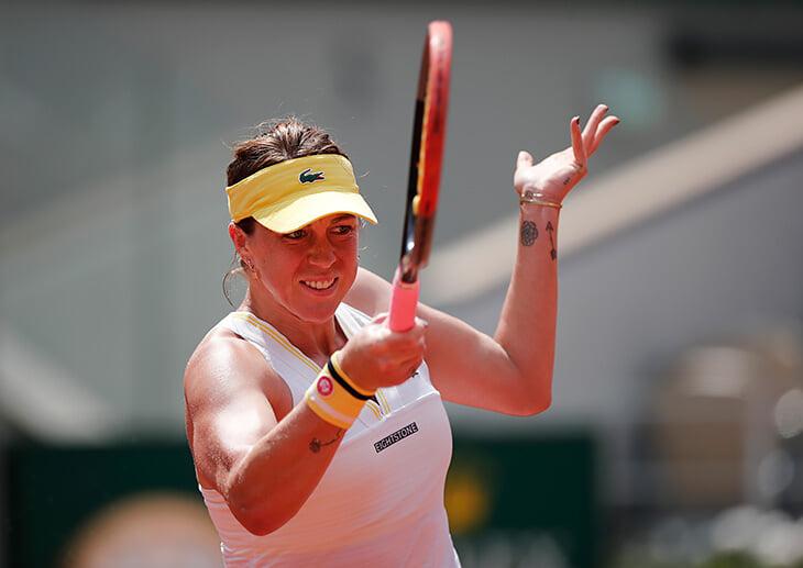 Павлюченкова наконец в 1/2 «Большого шлема»! Потратила 52 попытки, пережила много боли, но сейчас играет просто прекрасно