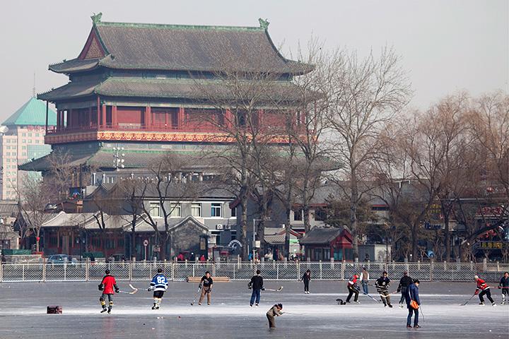 НХЛ, КХЛ, сборная Китая