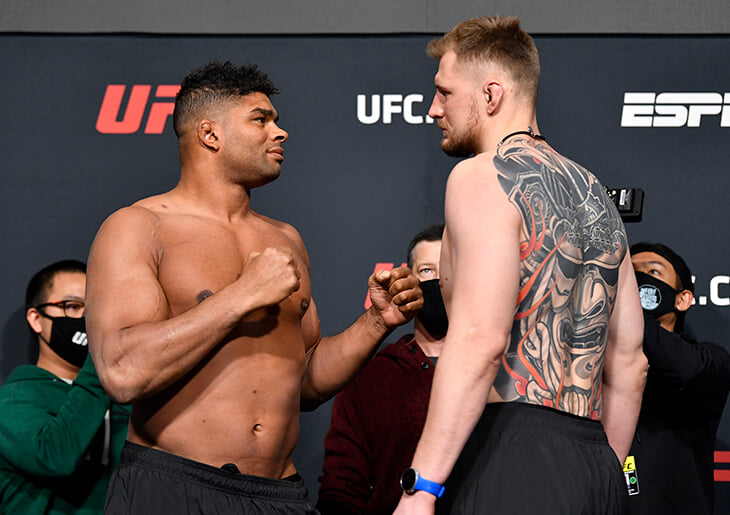 Александр Волков против Алистара Оверима. Онлайн UFC Fight Night 184