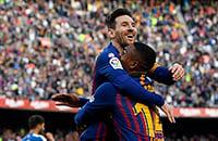 Барселона, Андрес Иньеста, Лионель Месси, Ла Лига, видео