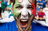 Итальянцы как самые эмоциональные болельщики Евро-2016
