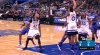 Aaron Gordon with one of the day's best dunks