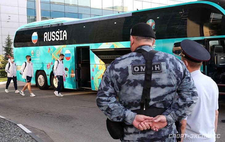 Как встречали вылетевших с Евро: Россию ждал ОМОН, финны и македонцы вернулись героями