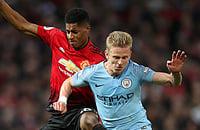 Смотрим дерби Манчестера. 2:0 в пользу «Сити»
