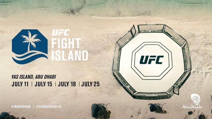 «Бойцовский остров» UFC – в Абу-Даби!