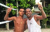 Роналдиньо, высшая лига Бразилия, Крузейро, детский футбол