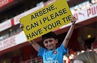 премьер-лига Англия, болельщики, фото, Арсен Венгер, Арсенал
