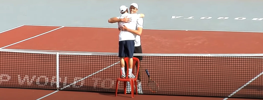 Почему теннисисты такие высокие? Почему постоянно становятся выше? И что делать низким?