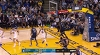 Stephen Curry with the nice feed