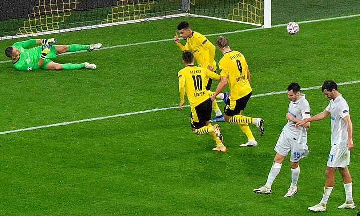 «Зенит» тонет в ЛЧ – 0 ударов в створ Дортмунда