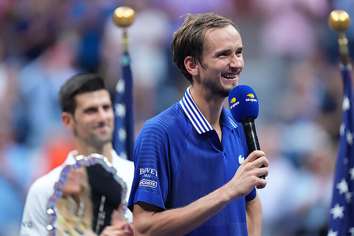 «Если кто и заслужил «Большой шлем», то это ты». Мир поздравляет Медведева