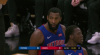 Andre Drummond gets up for the big rejection