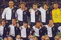 Однажды сборная России сыграла в черно-белой форме. Nike сделал ее для акции по борьбе с расизмом