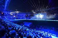 На стадионе «Локо» показали «Игру престолов»: 10 тысяч зрителей смотрели финал на экране размером с четырехэтажку