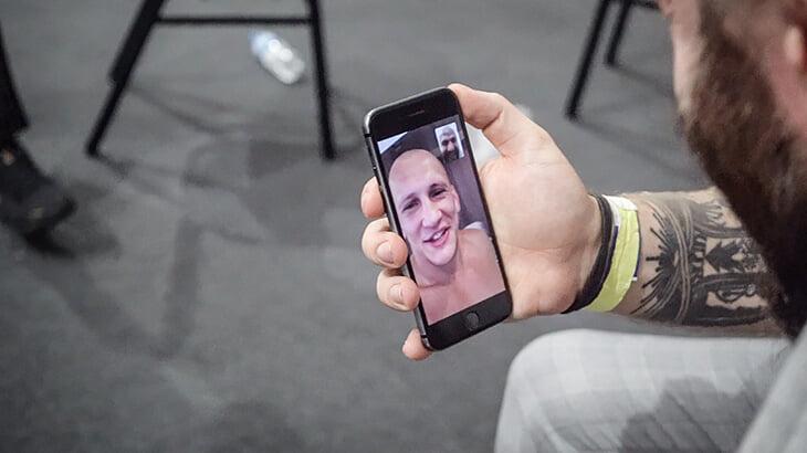 Фоторепортаж победы Маги Исмаилова над Александром Емельяненко. Бой, закулисье и эмоции