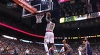 Dennis Schroder with the nice dish vs. the Wizards
