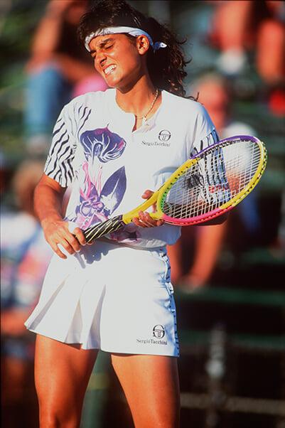Габриэла Сабатини – главная красавица тенниса 90-х и первая спортсменка с контрактом с Pepsi, собственным парфюмом и именной розой