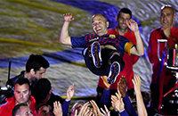 Барселона, Андрес Иньеста, Ла Лига, Камп Ноу