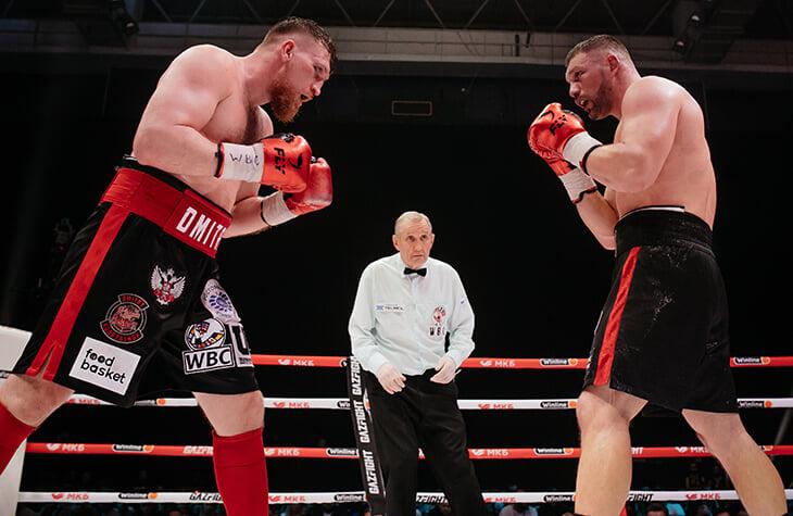 Баста провел первый боксерский турнир: Сабуров был ведущим, паузу заполнил концерт, а Кудряшов проиграл Романову