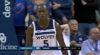 Gorgui Dieng gets it to go at the buzzer