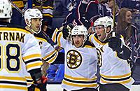 Бостон, Коламбус, видео, НХЛ, Брэд Маршанд
