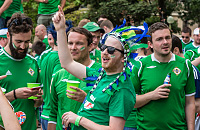 Евро-2016, сборная Северной Ирландии, болельщики