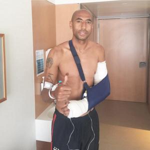 Луизао выбыл на два месяца из-за перелома руки
