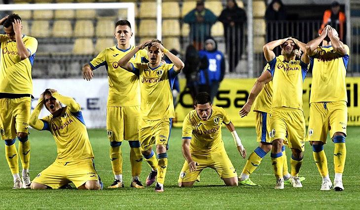 Вчемпионате Румынии дебютировал футболист без руки