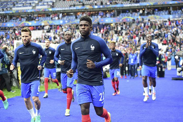 Лион, Барселона, сборная Франции, лига 1 Франция, примера Испания, Евро-2016, Самюэль Умтити