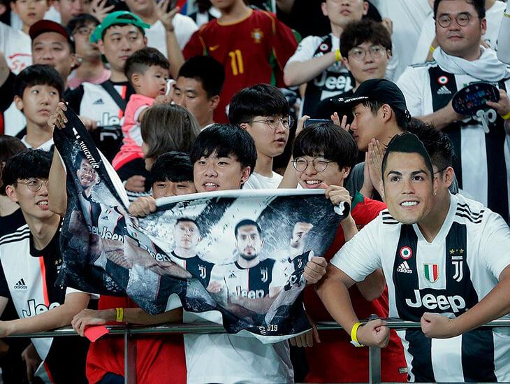 Помните, Роналду должен был сыграть в Корее, но не вышел? Болельщики отсудили 50% от билета + компенсацию