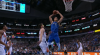 Dwight Powell with the huge dunk!