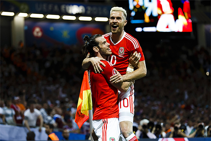 премьер-лига Англия, Арсенал, сборная Уэльса по футболу, Евро-2016, Аарон Рэмзи