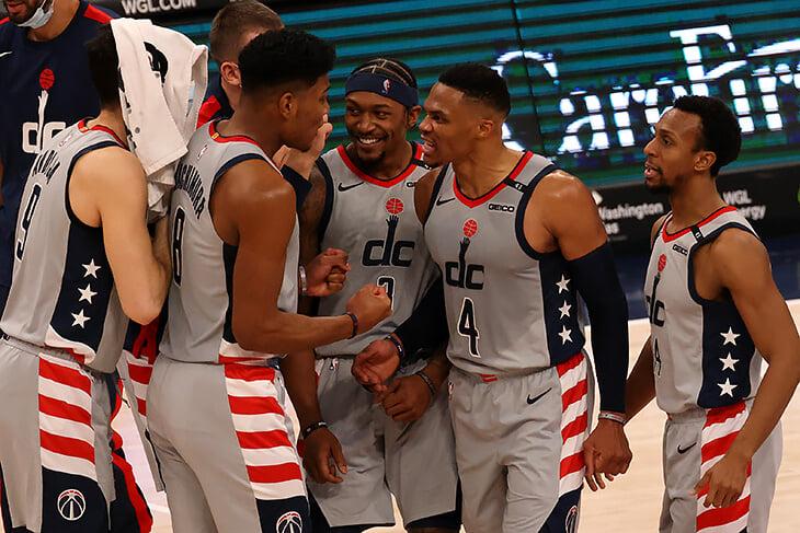 Хотите увидеть настоящее безумие? «Вашингтон» за 8 секунд набрал 8 очков и украл победу у «Бруклина»