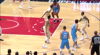 Milos Teodosic with one of the day's best assists