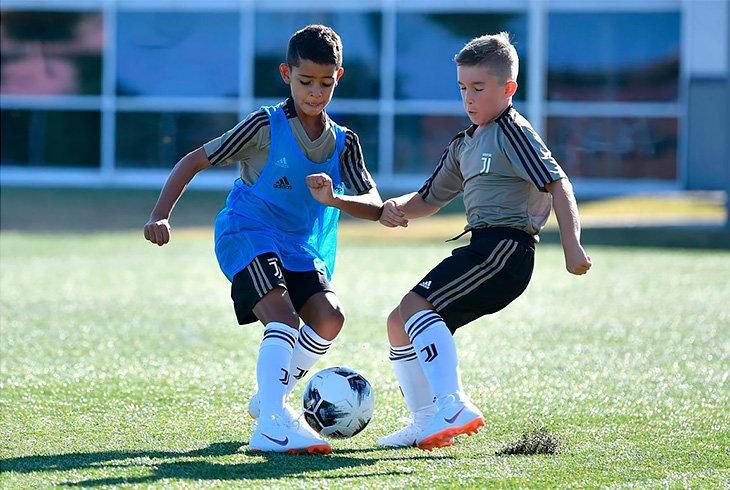 детский футбол, Ювентус, Криштиану Роналду, серия А Италия, Реал Мадрид