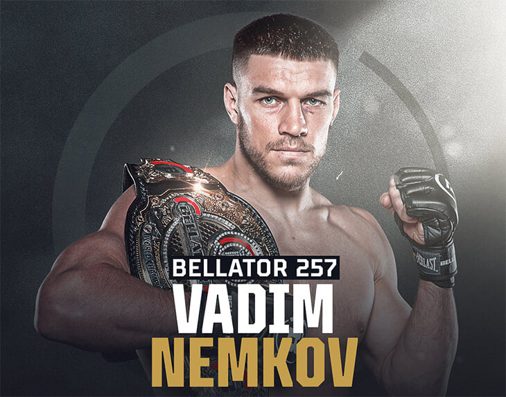 Немков уверенно вышел в полуфинал Гран-при Bellator. Вадим показал мощный рост: теперь он дышит 5 раундов, распределяет силы и разбирает на тайминге