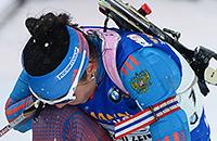 Россия не заслужила медаль в эстафете