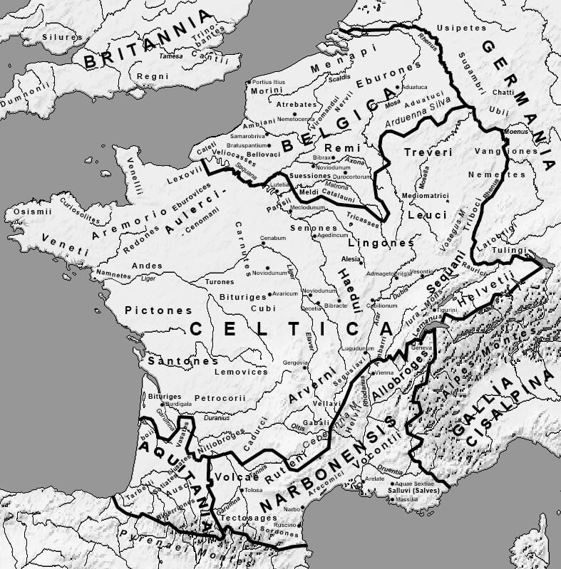 Жившие в Швейцарии и Франции галлы бились с Цезарем. Отсюда – языковая связь, прозвище сборной и символы фанатов