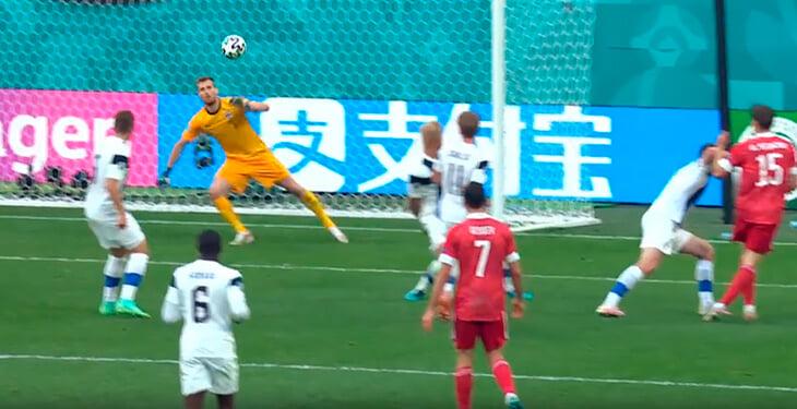 Алексей Миранчук – лучший по технике в победном матче с финнами. Классно сыграл десятку, создал 3 из 4 моментов России