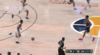 Donovan Mitchell slams home the alley-oop