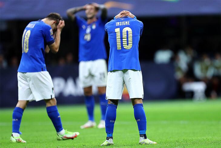 Италия по-гладиаторски закончила великую серию без поражений (рекордные 37 матчей). Испания взяла реванш