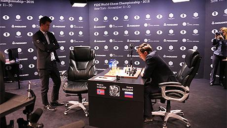 Карякин, Карлсен, Манхэттен: шахматный суперматч изнутри