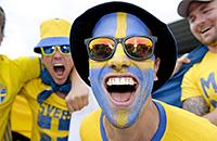болельщики, сборная Швеции, Евро-2016, сборная Ирландии