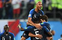 Сборная Франции по футболу, Сборная Бельгии по футболу, ЧМ-2018, Дидье Дешам