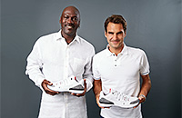 Роджер Федерер, кроссовки, стиль, Nike, Майкл Джордан